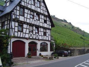 zum Vergr��ern auf das Bild klicken Bacharach, Romantik, Mittelrhein, Ferienwohnung, Loreley, Rhein
